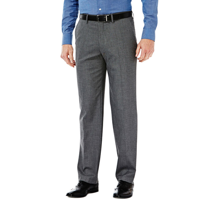 J.M. Haggar Premium Stretch Dress Slack, Medium Grey