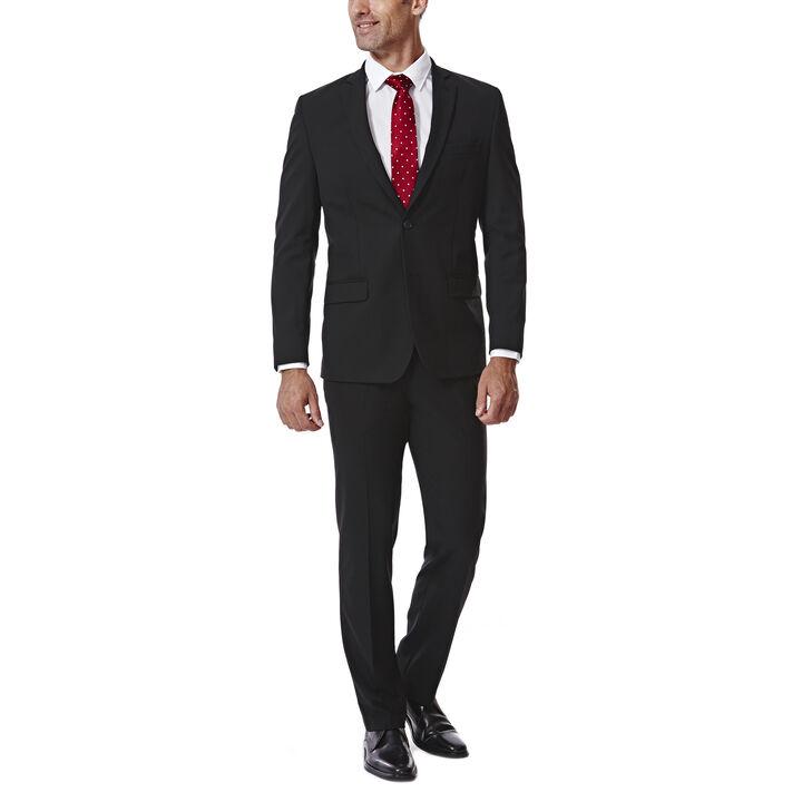 JM Haggar Slim 4 Way Stretch Suit Jacket, , hi-res