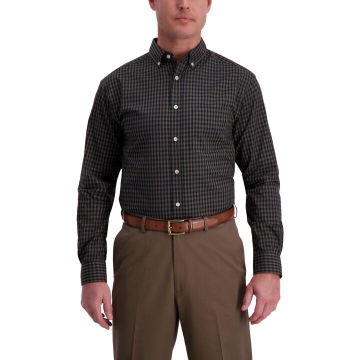 Small Gingham Shirt ,  Dark Leaf