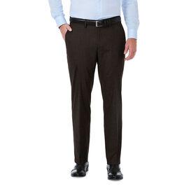 J.M. Haggar Premium Stretch Suit Pant, Chocolate
