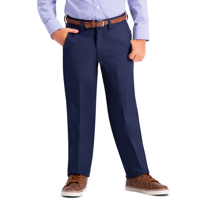 Boys Cool 18 Pro Pant (8-20), Navy open image in new window