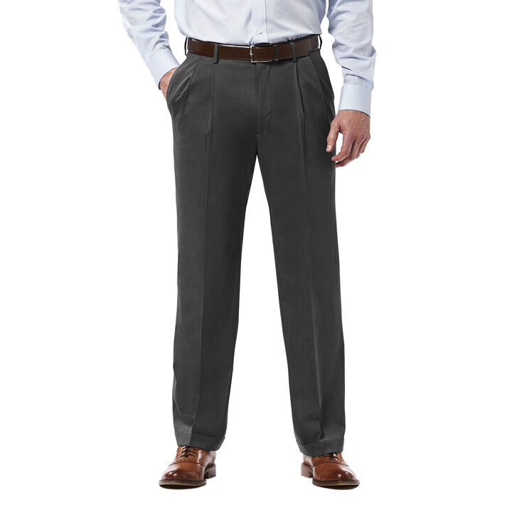 Premium Stretch Dress Pant, Black / Charcoal open image in new window