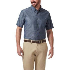 Chambray Button Down Shirt, Navy