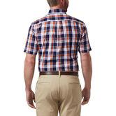 Plaid Button Down Shirt, Orange 2