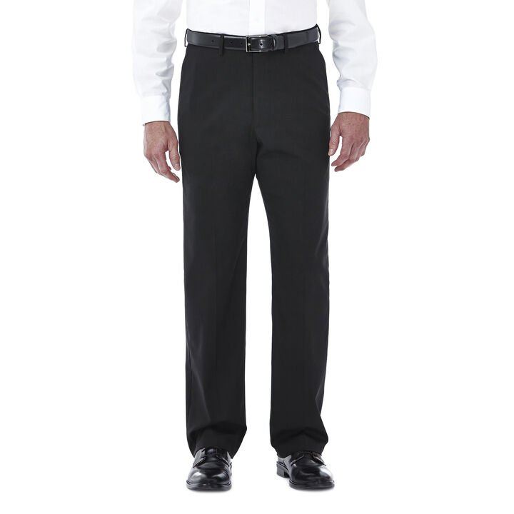 Premium Stretch Solid Dress Pant, Black