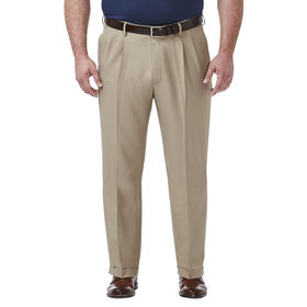 Big & Tall Premium Comfort Dress Pant, Khaki