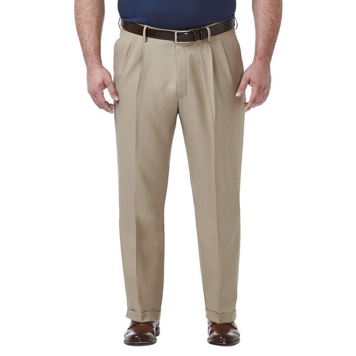 Big & Tall Premium Comfort Dress Pant, Khaki