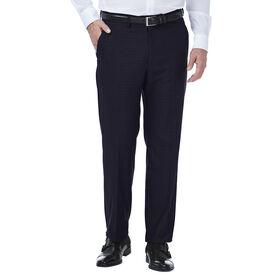 JM Haggar Deco Grid Suit Pant, Navy