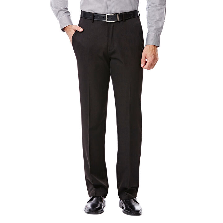 Big & Tall Travel Performance Suit Separates Pant, Black open image in new window