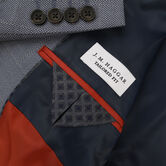 J.M. Haggar Birdseye Windowpane Sport Coat, Medium Blue view# 3