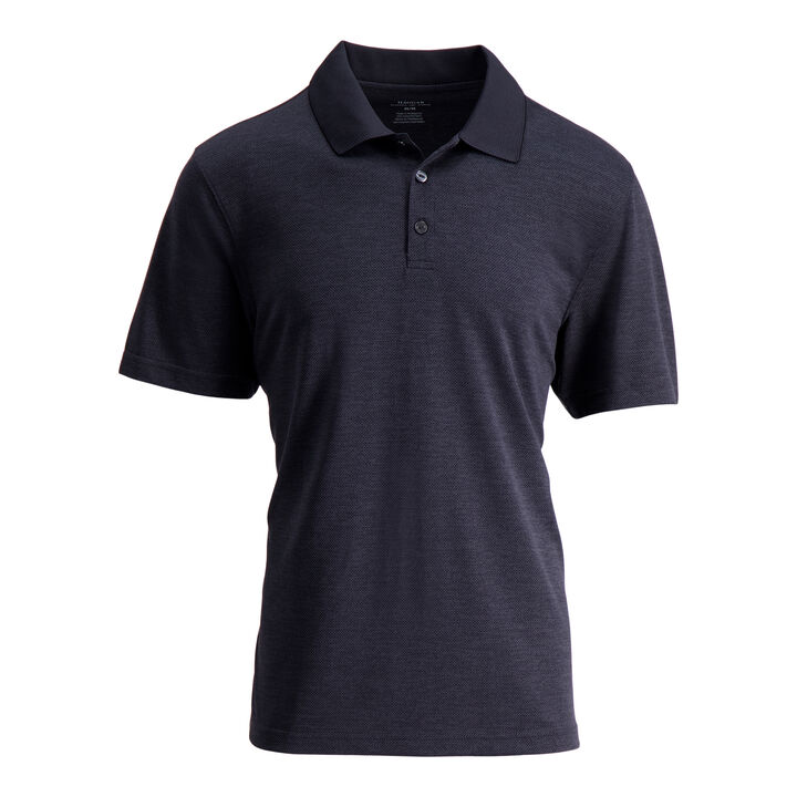 Cool 18® Pro Textured Golf Polo,