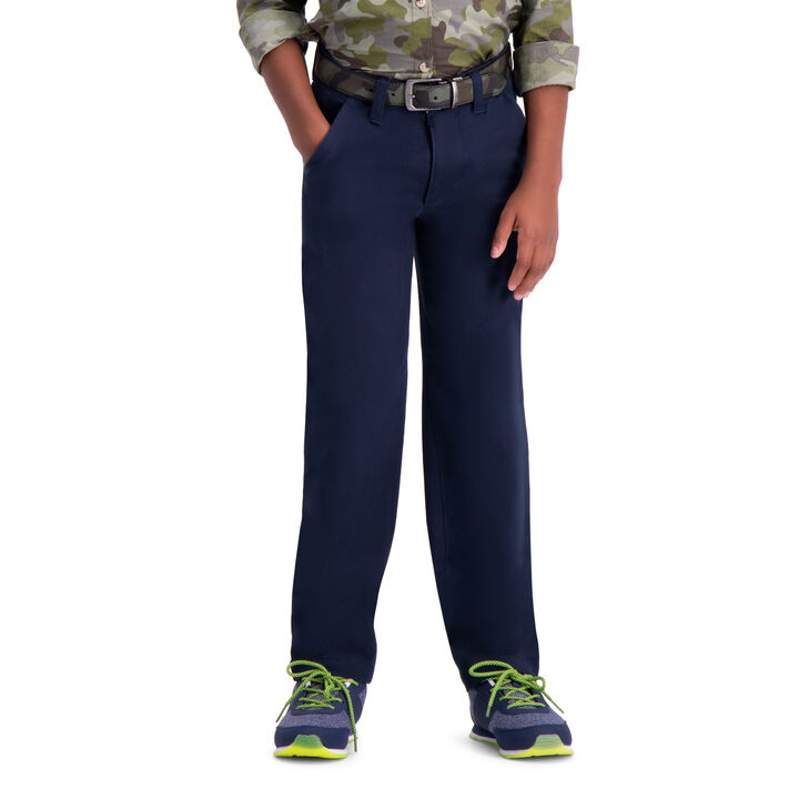 Boys Sustainable Chino (8-20), Navy open image in new window
