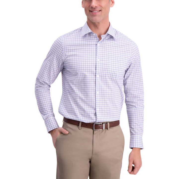 Plaid Dress Shirt, Chinchilla