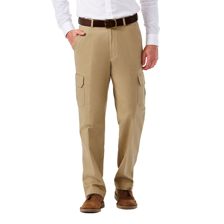 Stretch Comfort Cargo Pant, Khaki