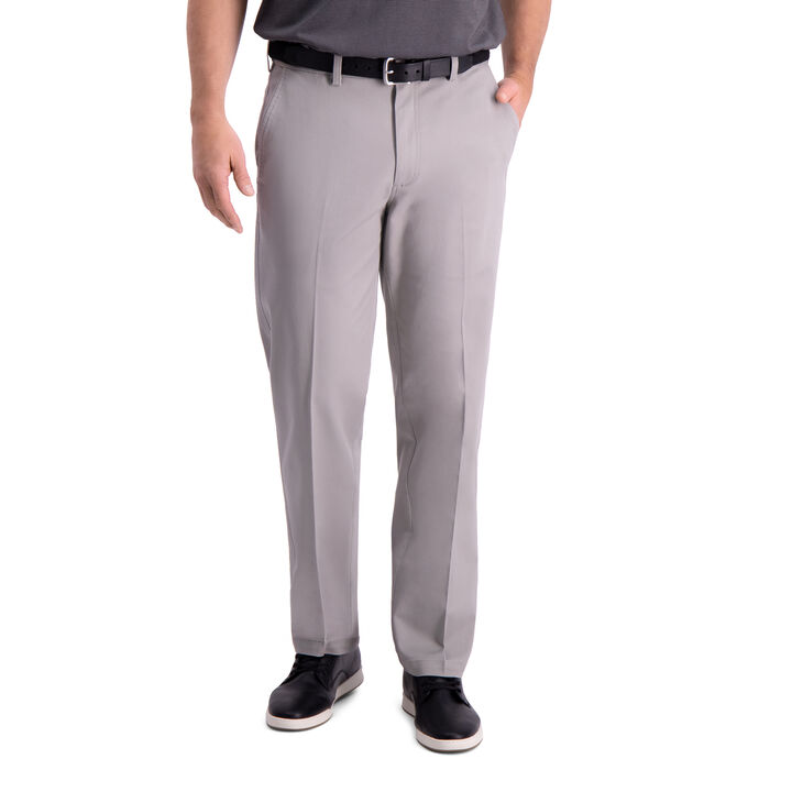 Premium Comfort Khaki Pant, Light Grey