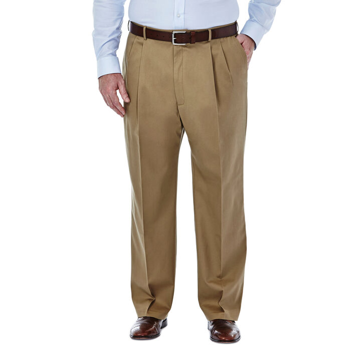 Big & Tall Premium No Iron Khaki, British Khaki