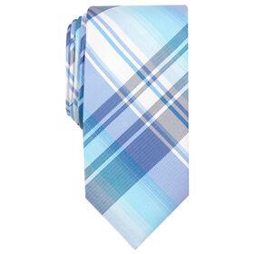Ementh Plaid Tie, Mint