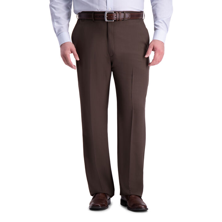 Big & Tall Premium Comfort Dress Pant, Dark Chocolate