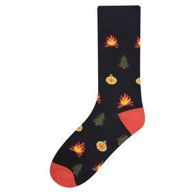 Campfire Sock, Black