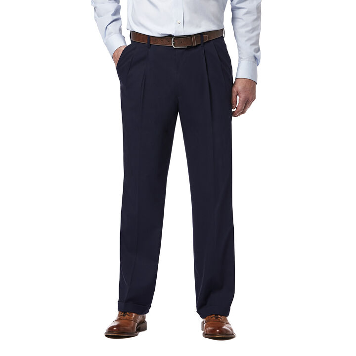 Premium Stretch Dress Pant, Navy open image in new window