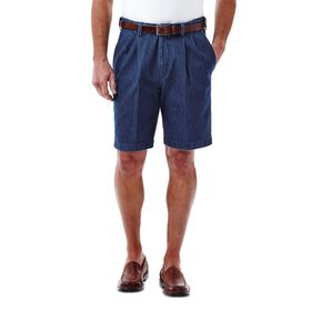 Work to Weekend® Denim Short, Dark Blue