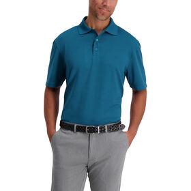 Texture Solid Polo, Khaki