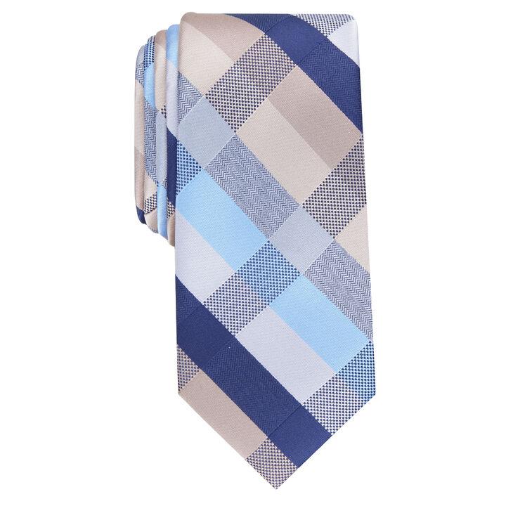 Clarence Plaid Tie,