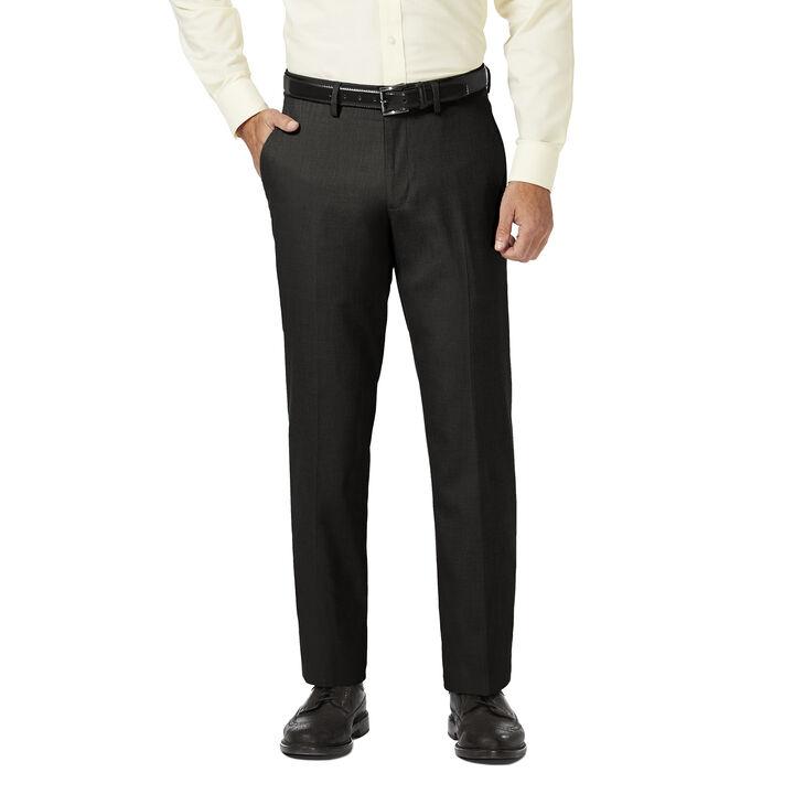 J.M. Haggar Dress Pant - Sharkskin, Black
