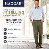Premium No Iron Khaki, Dark Navy 6