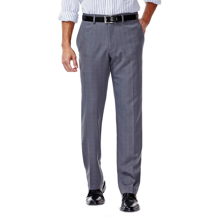 E-CLO™ Stretch Slack - Heathered Plaid, Medium Grey open image in new window