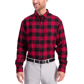 Buffalo Plaid Shirt, Tibetan Red