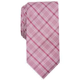 Cohasset Plaid Tie, Pink