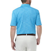 Cool 18® Space Dye Polo, Aspen Blue 2