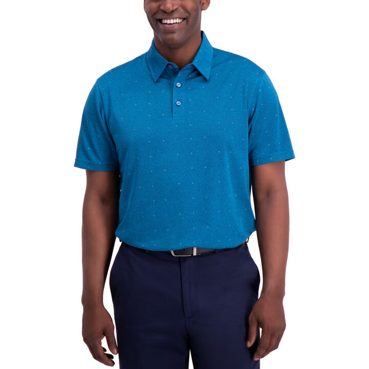Dot Polo, Aspen Blue