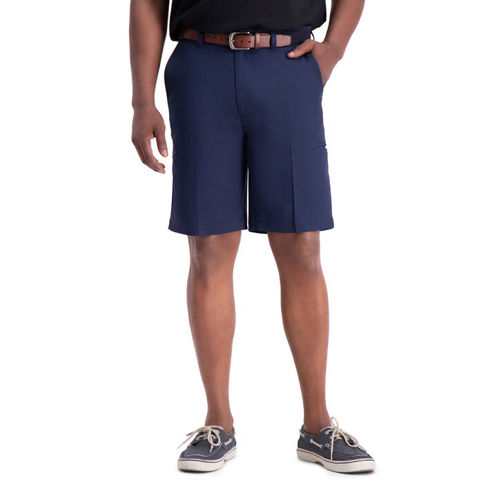 Cool 18® Pro Utility Short, Navy open image in new window