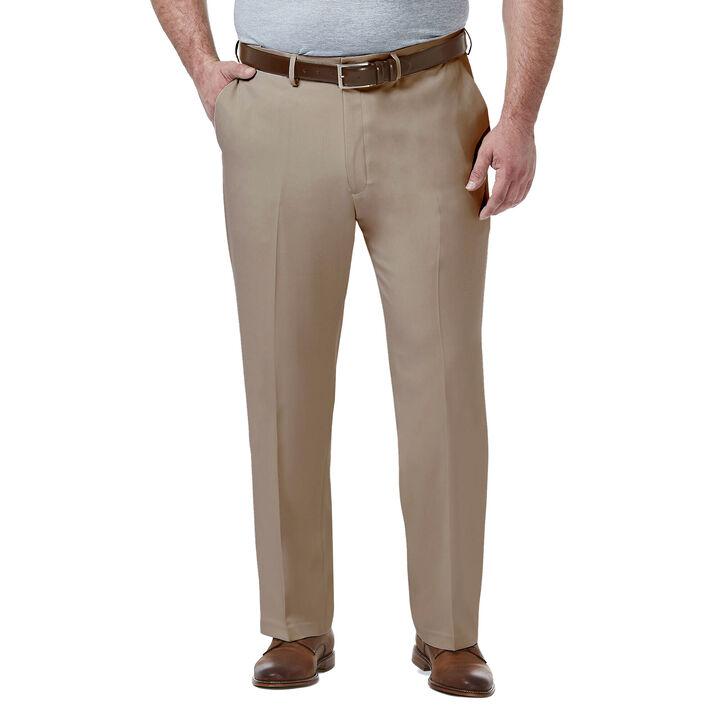 Big & Tall Premium Comfort Dress Pant, Khaki open image in new window