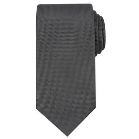 Oxford Solid Tie, Black