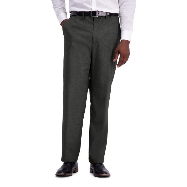 J.M. Haggar Texture Weave Suit Pant, Medium Grey
