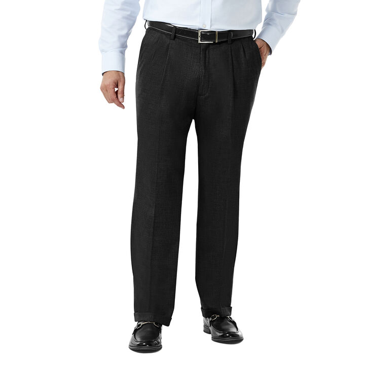 J.M. Haggar Premium Stretch Suit Pant - Pleated Front,  open image in new window