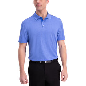 Tonal Golf Polo, Sky Marl