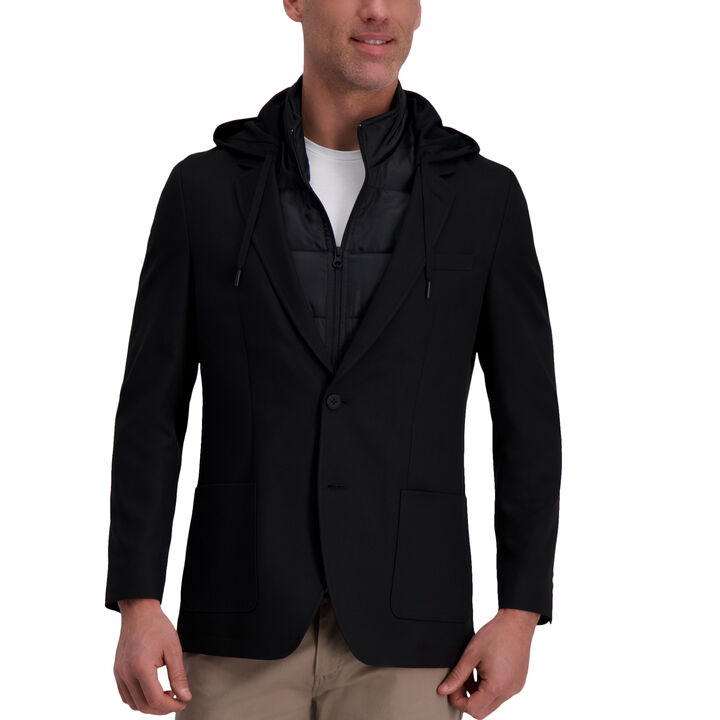 Active Series Commuter Blazer, Black open image in new window