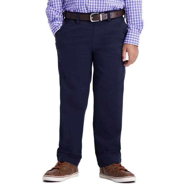 Boys Sustainable Chino (4-7), Navy open image in new window