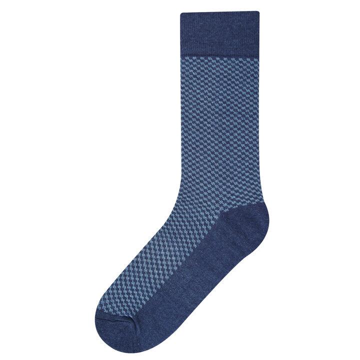 Beauford Knit Socks,  Teal open image in new window