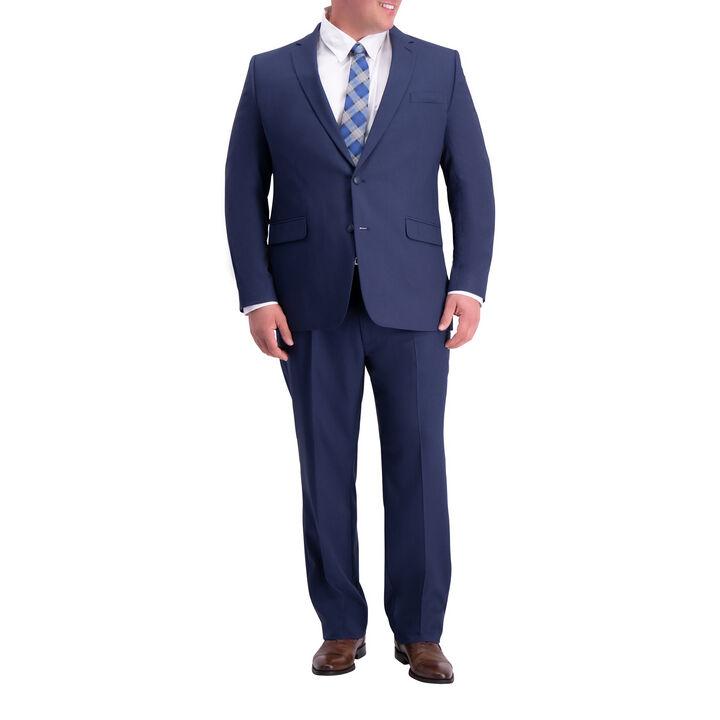 Big & Tall Travel Performance Suit Jacket, Blue