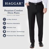 Premium Comfort Dress Pant, Dark Grey view# 4
