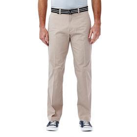 Solid Stretch Poplin Pant, Khaki