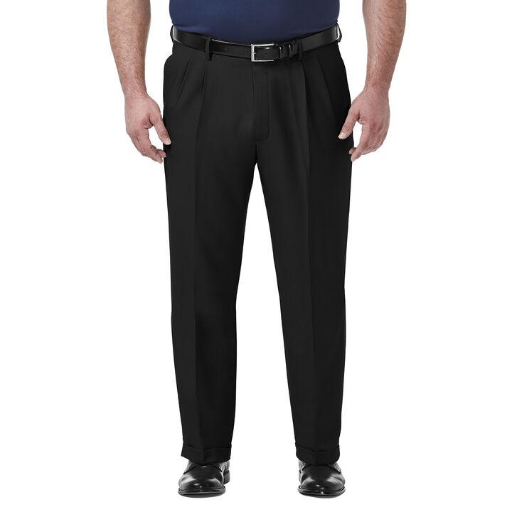 Big & Tall Premium Comfort Dress Pant, Black