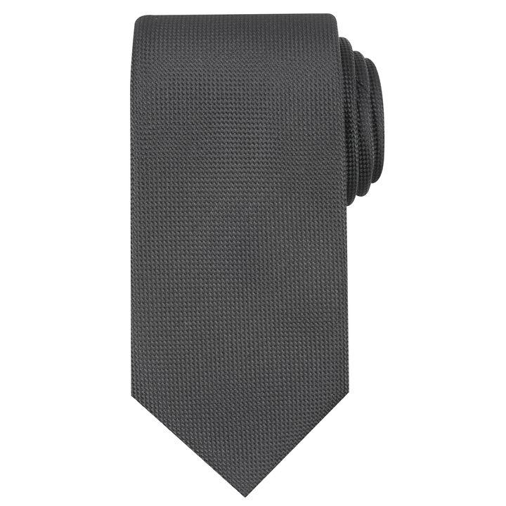 Oxford Solid Tie, Black