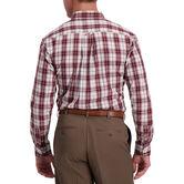 Windowpane Plaid Shirt, Deep Wine 2