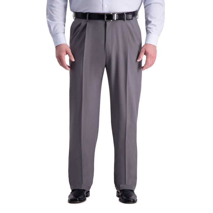 Big & Tall Premium Comfort Dress Pant, Medium Grey
